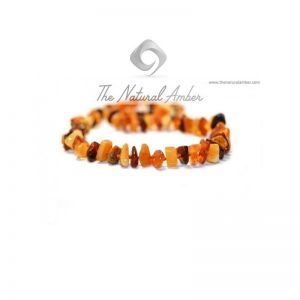 Amber Chips Adult Necklace