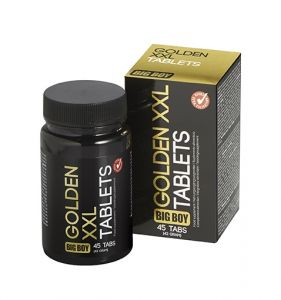 Big Boy Golden XXL for Penis Enlargement 45 tabs