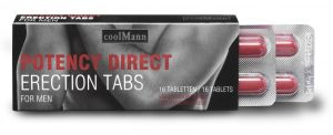 CoolMann Male Potency Direct. 16 erection tablets