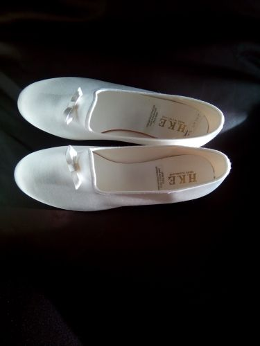 Wedding wear, shoes of white color. Size39