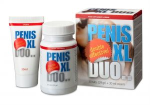 Penis XL DUO Pack Penis Enlargement Cure Dysfunctions