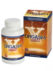 Orgasm Extra intensifies orgasms. For him and for her