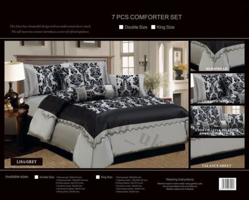 Set of decorative bedspread and 2 pillowcases IMPERIAL